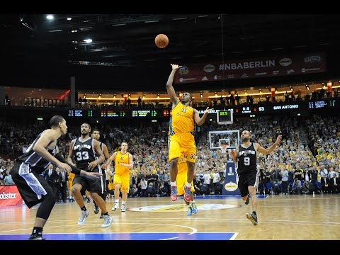 Top 10 Plays From 2014 NBA Global Games