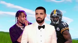 Celebrities YOU DIDN'T KNOW Play Fortnite! (Mia Khalifa, Drake & Ninja, Tfue, Lil Yachty)