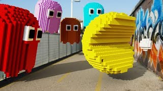 LEGO Pacman in Real Life