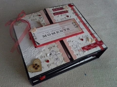 Tutorial mini álbum | Scrapbook