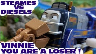 Thomas and friends : Vinnie , You are a loser | Thomas & friends