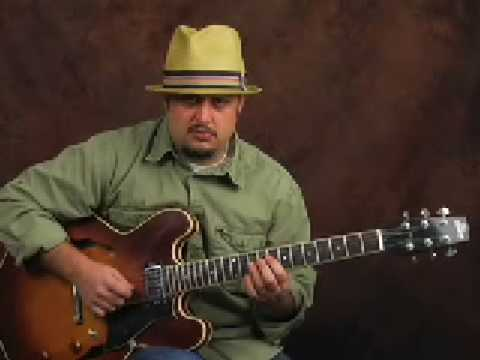 Learn guitar jazz rhythm & how solo w/ Harmonic Minor Scale Music Videos