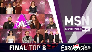 Eurovision Song Contest: Hungary decides - A Dal 2017 TOP 8