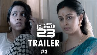 Crime 23 Movie Telugu Trailer #03 | Arun Vijay | Arivazhagan | Vishal Chandrashekhar