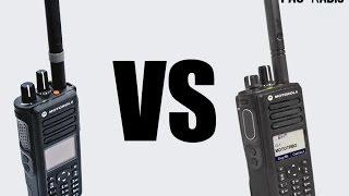 Motorola XPR7550 VS XPR7550e Range Test