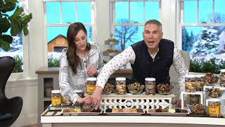 Germack (3) Jars of Award Winners Nut Mixes on QVC