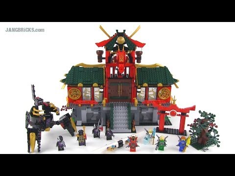 LEGO Ninjago 70728 Battle for Ninjago City set review!