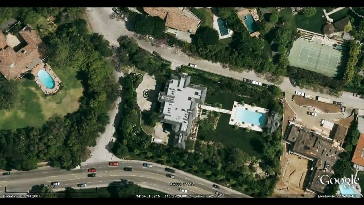 The House Where Michael Jackson Died June 2009 Youtube