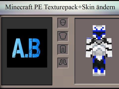 Minecraft PE Texturepack und Skin ändern ohne Jailbraek!