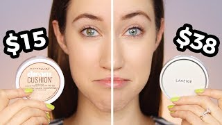 Drugstore vs High End Cushion Foundation 😱