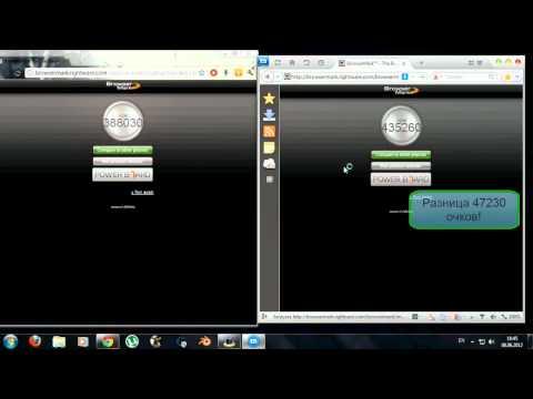 Сравнение Google Chrome и Maxthon. (HD)