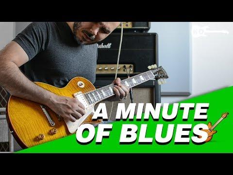 A Minute of Blues  - Electric Guitar by Kfir Ochaion