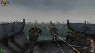 Medal of Honor ( MOHAA PC ) : Desembarco en Normandia ( Dia D ) - Gameplay en Español por Zeta
