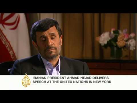 Mahmoud Ahmadinejad on Iran-US relations & 'The Bomb'