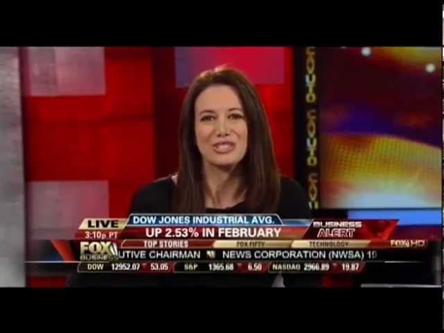 Carol Roth Neil Cavuto on Dow 13,000 and Spotted Owl Protection Fox