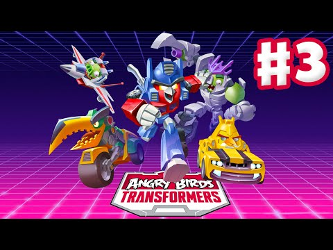 Angry Birds Transformers - Gameplay Walkthrough Part 3 - Bludgeon Rescue! (ios) video
