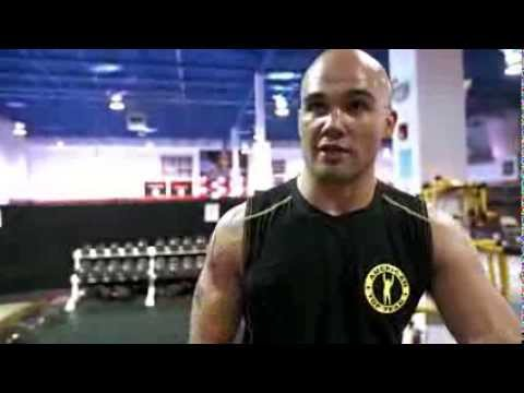 UFC 171 Robbie Lawler Training Day Part 1