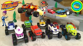 Вспыш и чудо машинки 2 серия - Fisher price Blaze and the Monster Machines