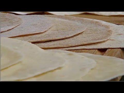 الخبز المكسيكي وخبز الصاج الشيف #ساره_عبدالسلام #سنه_اولي_طبخ #فوود