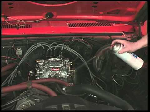 Edelbrock Carburetors - Troubleshooting - Vacuum Leaks/Erratic Idle
