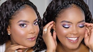 Spring Purple Unicorn Glam | MiniMarley Makeup