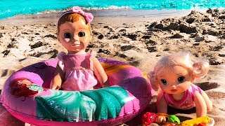 Lika Marik and DOLLS on the SEA Video for Kids JoyJoy Lika
