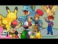 Red and Ash vs Gary and Blue Pokémon Battle MP3