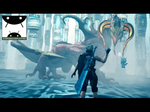 MOBIUS FINAL FANTASY Android GamePlay First BIG BOSS [60FPS]