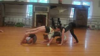 Contortion Training at Jersey Cape Dance and Gymnastics Acad