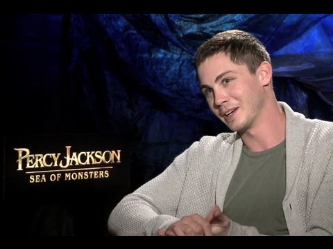 Logan Lerman Interview - Percy Jackson: Sea of Monsters (JoBlo.com)