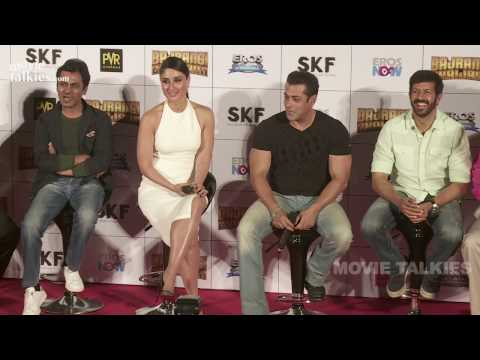 Salman Khan's SHOCKING Comment on Shahrukh Khan At Bajrangi Bhaijaan Trailer Launch