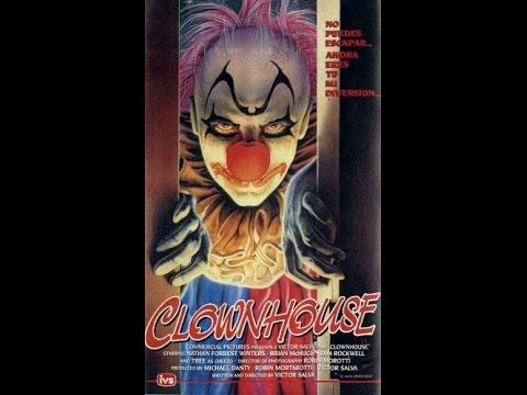 Дом Клоунов , ужасы horror film,1989