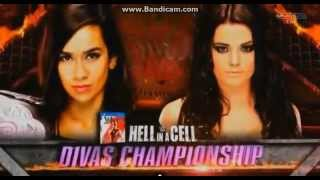 WWE Hell in a Cell 2014 PPV Full Match Card