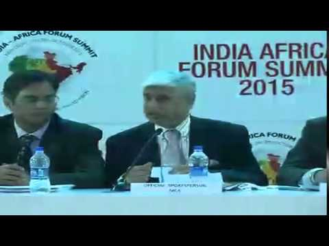Media Briefing by Official Spokesperson on India Africa Forum Summit (October 27, 2015)