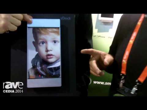 CEDIA 2014: smart:)things Exhibits sDockAir Wall Mount/Charging Stations