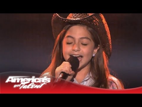 Genesis Nava - Carrie Underwood good Girl Cover - America's Got Talent 2013 video