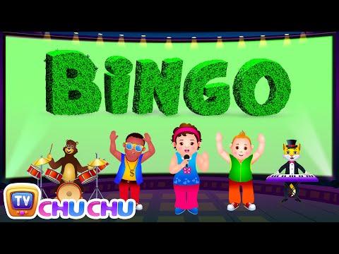Bingo Dog Song - Nursery Rhymes Karaoke Songs For Children | ChuChu TV Rock