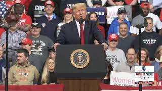 Full Speech: President Donald Trump Keep America Great Rally in Manchester, NH 2/10/20
