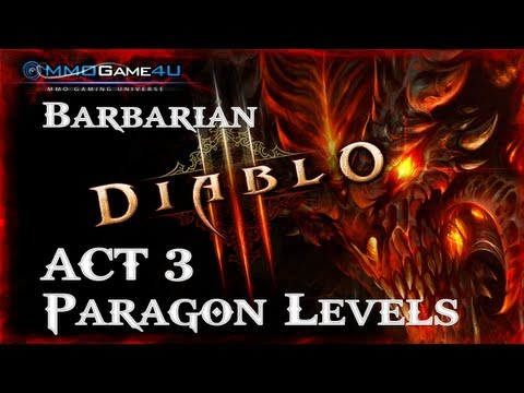 Diablo 3 Best XP Paragon Leveling Farming Act 3 Barbarian Build