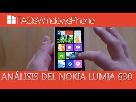 Nokia Lumia 630: análisis en español   FAQsWindowsPhone.com