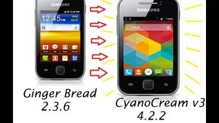 Instalacion Rom CyanoCream v3 Para Galaxy Young