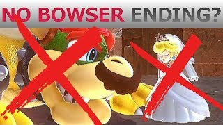 Mario Odyssey Ending WITHOUT Bowser!