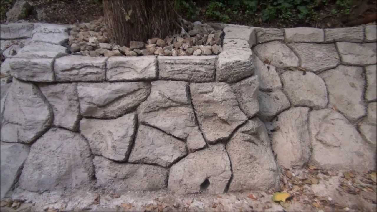 How to Make a Fake Rock Wall