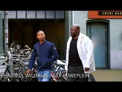 Pharrell Williams in Amsterdam.