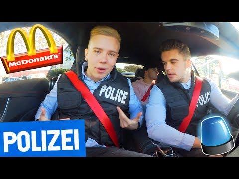 McDonalds PRANK | POLIZEI PRANK MIT AVIVEHD + VERHAFTUNG 😳