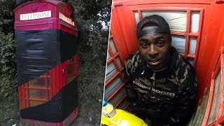 I Turned A Vintage Phonebox Into A Torture Chamber And Went Insane..
