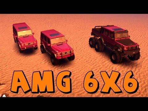Spin Tires   Mercedes G65 AMG 6x6   Mod Spotlight/Review