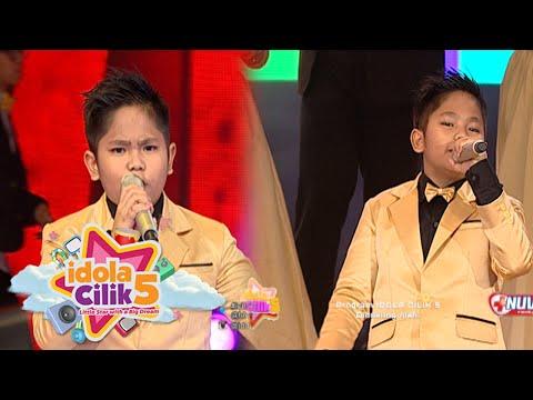 download lagu Sion Oke Banget Suaranya Saat Nyanyi Dangdut Idola Cilik Grand Final 2 April 2016 gratis