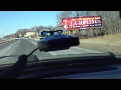 Escort Passport 9500ix in action   Best Radar Detector
