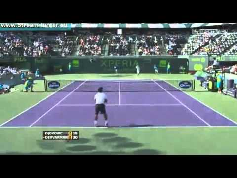 Novak Djokovic Vs Somdev Devvarman HIGHLIGHTS ATP MIAMI MASTERS 2013